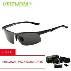 Harga Termurah Veithdia Hd Merek Fashion Desainer Kacamata Terpolarisasi Kacamata Hitam Pria Pengemudi Mengemudi Musim Panas Matahari Kacamata Klasik 6502 Abu Abu Membeli 1 Mendapatkan 1 Hadiah