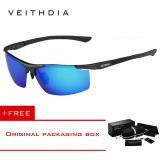 Beli Veithdia Aluminium Magnesium Sunglasses Polarized Sports Mens Lapisan Pria Eyewear Aksesoris 6588 Biru Beli 1 Gratis 1 Freebie Yang Bagus