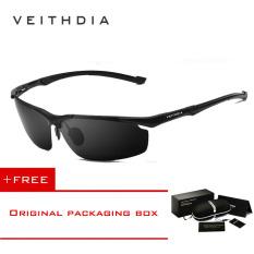 Toko Veithdia Magnesium Aluminium Pria Kacamata Terpolarisasi Matahari Oculos Mengemudi Olahraga Kacamata Pria Kacamata Hitam For Pria 6592 Eyewear Hitam Membeli 1 Mendapatkan 1 Hadiah Lengkap