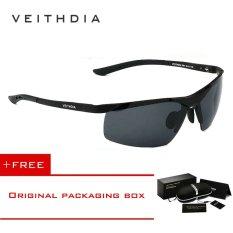 Review Veithdia Magnesium Aluminium Terpolarisasi Lensa Kacamata Hitam Pria Pengemudi Cermin Matahari Kacamata 6501 Di Tiongkok