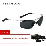 Veithdia Magnesium Aluminium Terpolarisasi Lensa Kacamata Hitam Pria Pengemudi Cermin Matahari Kacamata 6501 Membeli 1 Mendapatkan 1 Hadiah Tiongkok