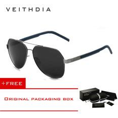 5522ea259f1 VEITHDIA Pantai Pria Outdoor Visor Sunglasses Lensa Resin Paduan  FrameSummer Kacamata UV Protection Sun Glasses 3556