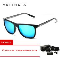 Beli Veithdia Kacamata Hitam Tr90 Model Vintage Lensa Terpolarisasi Untuk Pria Dan Wanita 6108 Biru Beli 1 Dapat 1 Hadiah Online