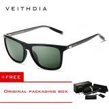 Beli Veithdia Merek Adapula Retro Aluminium Tr90 Kacamata Hitam Vintage Aksesoris Kacamata Lensa Terpolarisasi For Pria Wanita Kacamata Matahari 6108 Gelap Hijau Membeli 1 Mendapatkan 1 Hadiah Pakai Kartu Kredit