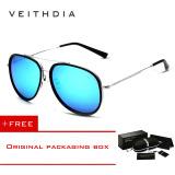 Beli Veithdia Merek Fashion Kacamata Terpolarisasi Cahaya Matahari Warna Lapisan Cermin Mengemudi Kacamata Hitam Pria For Pria Wanita Oculos Masculino 2725 Biru Membeli 1 Mendapatkan 1 Hadiah Pakai Kartu Kredit