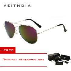 Iklan Veithdia Merek Fashion Klasik Pria Wanita Terpolarisasi Kacamata Hitam Warna Lapisan Reflektif Aksesoris Kacamata Lensa Kacamata Matahari 3026 Perak Ungu Membeli 1 Mendapatkan 1 Hadiah