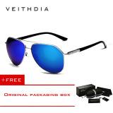 Spesifikasi Veithdia Merek Fashion Unisex Kacamata Terpolarisasi Cahaya Matahari Warna Lapisan Pria For Pria Wanita 2732 Eyewear Biru Membeli 1 Mendapatkan 1 Hadiah Terbaru