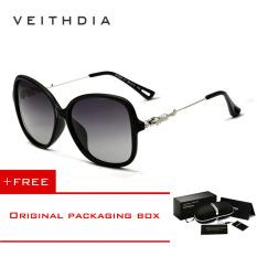 Beli Veithdia Merek Retro Tr90 Matahari Wanita Kacamata Hitam Desainer Aksesoris Kacamata Terpolarisasi For Perempuan 7026 Hitam Buy 1 Mendapatkan 1 Hadiah Veithdia Dengan Harga Terjangkau