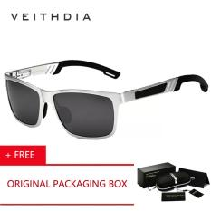 Veithdia Original Brand Logo Hd Aluminium Magnesium Cermin Kacamata Mengemudi Kacamata Oculos De Sol Polarized Sunglasses Kacamata Hitam Untuk Pria 6560 Beli 1 Gratis 1 Freebie Veithdia Diskon 30