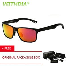 Pusat Jual Beli Veithdia Merek Asli Logo Hd Aluminium Magnesium Cermin Mengemudi Kacamata Kacamata Oculos De Sol Polarized Sunglasses Kacamata Hitam Untuk Pria 6560 Merah Beli 1 Gratis 1 Freebie Tiongkok