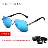 Review Toko Veithdia Pria Magnesium Aluminium Merek Kacamata Hitam Terpolarisasi Biru Lensa Kacamata Matahari Mengemudi Penangkapan Ikan Eyewear Untuk Laki Laki 3598 Perak Biru Membeli 1 Mendapatkan 1 Hadiah