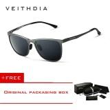 Review Toko Veithdia Retro Aluminium Magnesium Merek Pria Kacamata Terpolarisasi Lensa Vintage Eyewear Aksesoris Sun Glasses For Pria 6623 Online
