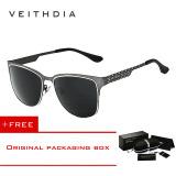 Toko Veithdia Stainless Steel Matahari Kacamata Terpolarisasi Biru Lapisan Cermin Mengemudi Laki Laki Eyewear Pria Wanita 3580 Buy 1 Mendapatkan 1 Hadiah Online