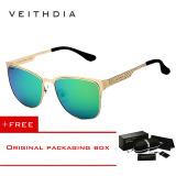Promo Toko Veithdia Stainless Steel Matahari Kacamata Terpolarisasi Biru Lapisan Cermin Mengemudi Laki Laki Eyewear For Kacamata Hitam Pria Wanita 3580