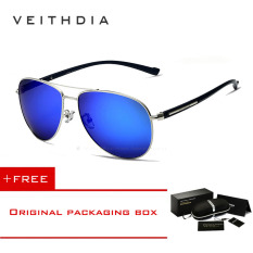 Spesifikasi Veithdia Tr90 Pria Hd Kacamata Terpolarisasi Vintage Pria Uv400 Pilot Matahari Kacamata Sport Kacamata Hitam For Pria 2708 Biru Membeli 1 Mendapatkan 1 Hadiah Internasional Yang Bagus