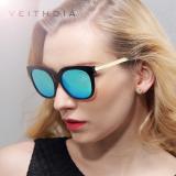 Beli Veithdia Tr90 Mengemudi Wanita Kacamata Terpolarisasi Lensa Cermin Matahari Wanita Mewah Desainer Kacamata Hitam Kacamata Untuk Wanita China 8025 Hitam Biru Cicil