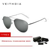 Harga Veithdia Unisex Fashion Sunglasses Polarized Coating Mirror Mengemudi Sunglasses Oculos De Sol Feminino Eyewear Pria Wanita 2736 Silver Beli 1 Gratis 1 Freebie Asli