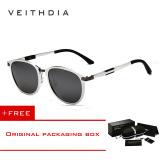 Veithdia Unisex Kacamata Hitam Magnesium Aluminium Merek Retro Kacamata Luar Ruangan Lensa Terpolarisasi Aksesoris Kacamata Matahari 6680 Membeli 1 Mendapatkan 1 Hadiah Diskon Akhir Tahun