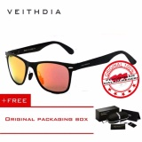 Toko Veithdia Kacamata Hitam Aluminium Sport Dan Travel Elegant Mirrored Uv400 Polarized Sunglasses 2140B Veithdia Jawa Barat