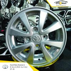 Review Pada Velg Excel New Toyota Avanza G Ring 14