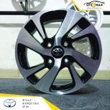 Jual Velg Mobil Toyota New Veloz Ring 15 Black Polish Import