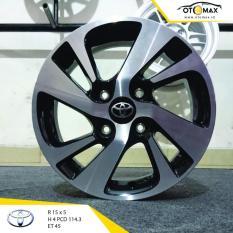 Velg Mobil Toyota New Veloz Ring 15 Black Polish Promo Beli 1 Gratis 1