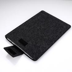 Vertikal Fashion Desain Multifungsi Case Tas Laptop untuk Apple MacBook 13.3 Inches (hitam)