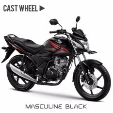 VERZA 150 CW MMC - MASCULINE BLACK KAB. BARITO UTARA