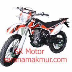 Viar Motor Trail CrossX 200 GT Orange - Uang Muka Cicilan
