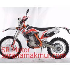Jual Viar Motor Trail Crossx 250 Ec Merah Uang Muka Cicilan Online Di Indonesia
