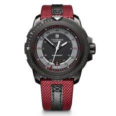 Jual Victorinox Alpnach Mechanical 241686 Jam Tangan Pria Merah Baru