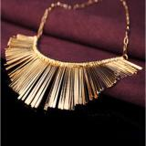 Promo Vienna Linz Kalung Fashion Golden Needie Korea Vintage Retro Necklace Pesta Jewelry Accessories Gold Murah