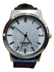 Vinergy Quartz 4692 Jam Tangan Wanita Water Resistant Chrome - White