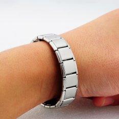 Vinmax Anti-kelelahan Germanium Titanium Gelang Energi Power Bangle untuk Pria Perawatan Kesehatan (Perak)-Intl