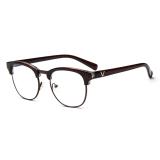 Pria Vintage Kacamata Bingkai Kacamata Retro Spectacles Bening Lensa Kacamata For Pria Oem Diskon 50