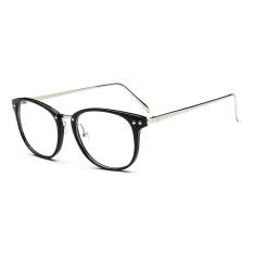 Review Pria Vintage Kacamata Bingkai Kacamata Retro Spectacles Bening Lensa Kacamata Untuk Pria