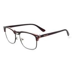 Spesifikasi Pria Vintage Kacamata Bingkai Kacamata Retro Spectacles Bening Lensa Kacamata Untuk Pria Lengkap