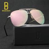 Bingkai Logam Vintage Aviator Dita Pria Sunglasses Brand Designer Kacamata Cermin Fashion Uv400 Poin Lady Retro Berjemur Kacamata Pink Intl Murah