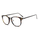 Ulasan Tentang Vintage Pria Lensa Kacamata Bingkai Kacamata Retro Jelas Lensa Kacamata For Pria