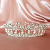 Ulasan Vintage Putri Diana Pearl Crown Tiara Headband Super Flash Tetes Mahkota Pengantin Pernikahan Aksesoris Pernikahan Bentuk Perhiasan Mahkota Intl