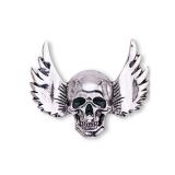 Jual Vintage Punk Style Sudut Sayap Tengkorak Pin Bros Perhiasan Halloween Hadiah Silver Intl Magideal Online