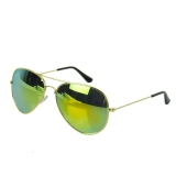 Beli Vintage Style Unisex Reflective Colorful Sunglasses Restoring Mirror Murah