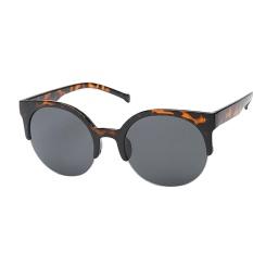 Vintage Sunglasses Cat Eye Semi-Rim Round Sunglasses for Men Women Sun Glasses