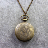 Harga Kalung Vintage Tardis Dokter Yang Jam Saku Arloji Kuarsa Gallifreyan Dia45Mm Internasional Oem