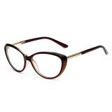 Toko Vintage Wanita Kacamata Bingkai Kacamata Retro Spectacles Bening Lensa Kacamata Untuk Wanita Online Terpercaya