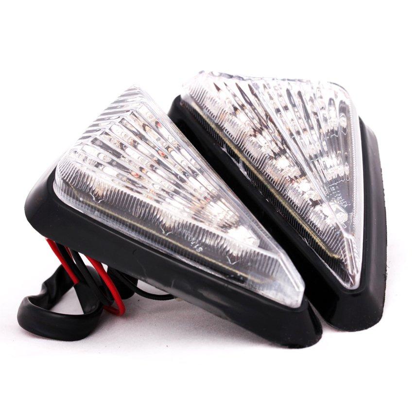 Lampu SEN Tempel LED - Motor Fairing - Kuning
