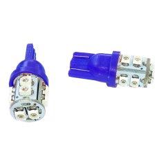- LED 10 Mata Colok Untuk Lampu Motor 2 Pcs - Biru