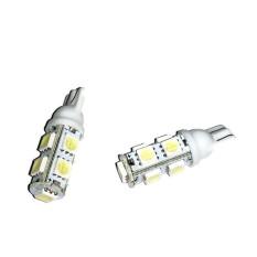 LED 9 Mata T10 Untuk Lampu Motor 2 Pcs - Putih