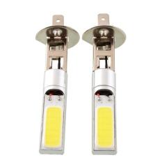 Vishine Mall-Lighting Profesional Aksesoris 2 Pcs H1 80 W Hemat Cree LED Lampu Kabut Mobil Lampu Utama Berkendara DRL Tahan Lama Bohlam Putih-Internasional