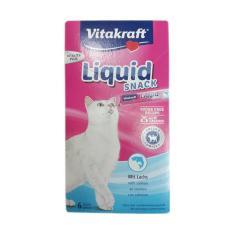 Vitakraft Cat Liquid Snack with Salmon + Omega 3 Cat Food 2 box [12 x 15 g]
